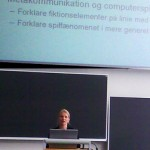 Anne Mette Thorhauge defends game PhD